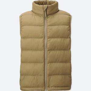 BOYS LIGHT WARM PADDED VEST £2.90 Uniqlo - free c&c - An absolute bargain for your kids!