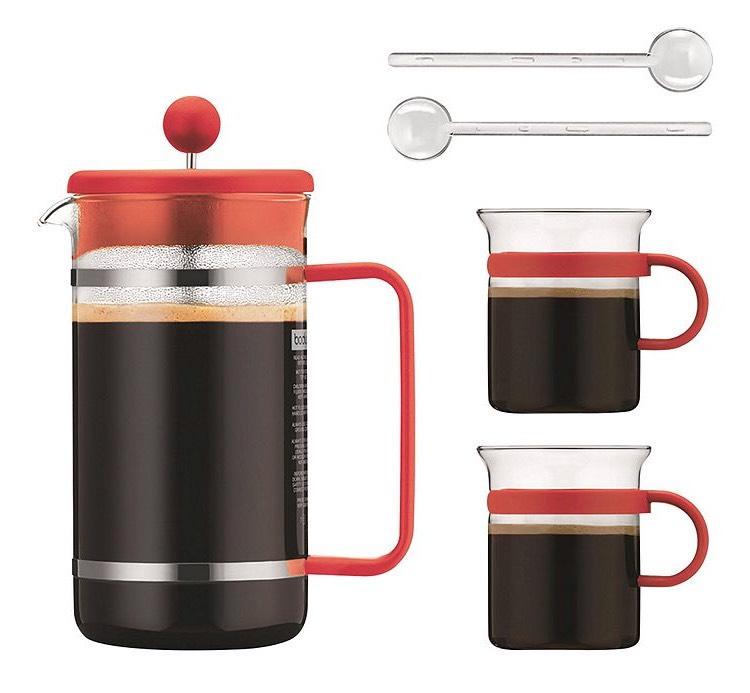 Bodum Bistro Orange 8 Cup Cafetiere £17.50 Tesco