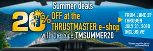 Thrustmaster Summer Sale! 20% off at the e-shop