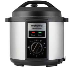 Cookworks Pressure cooker reduced from £24.99 to £15.99 Argos (free ...