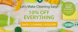 10% off Cleaning Category with Code @ Expert Verdict