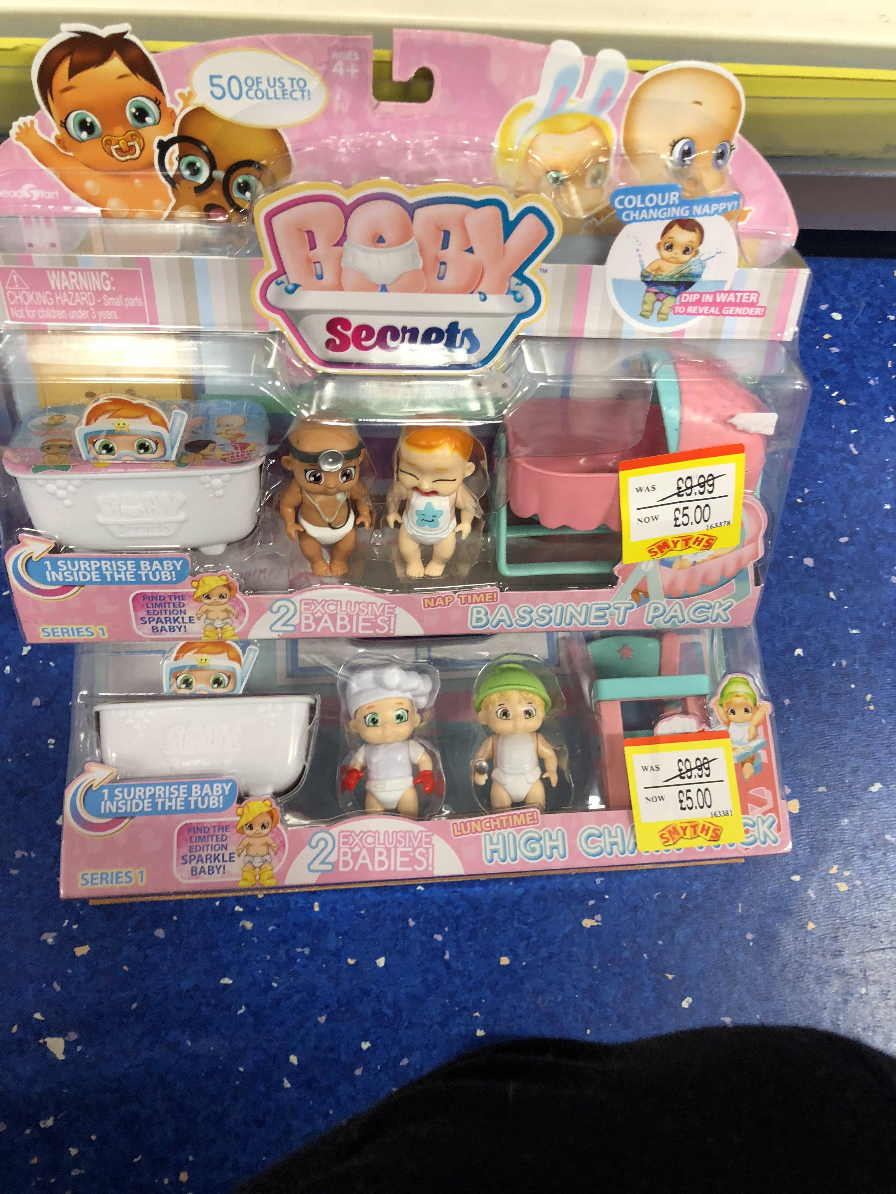 Baby secrets £5 smyths crayford
