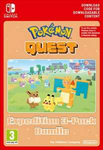 Pokemon Quest 3 Pack for Switch - £2.99 (Digital Download) @ Amazon