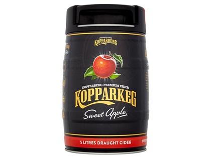 Kopparberg Sweet Apple cider 5 litre keg now rollled back to £13 online and instore @ Asda