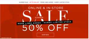 SUMMER SALE - UP TO 50% OFF @ Bonmarche