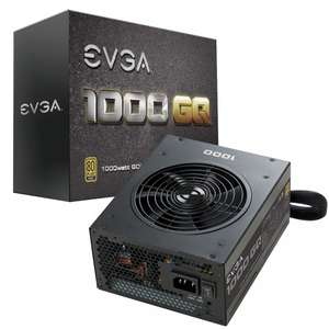 GQ 1000W 80 Plus Gold Modular Power Supply - Black - £109.99 / £120.49 Delivered @ Overclockers
