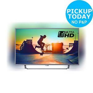 Philips 55PUS6272 55 Inch 4K UHD Ambilight Freeview Smart WiFi LED TV £449.10 @ Argos eBay