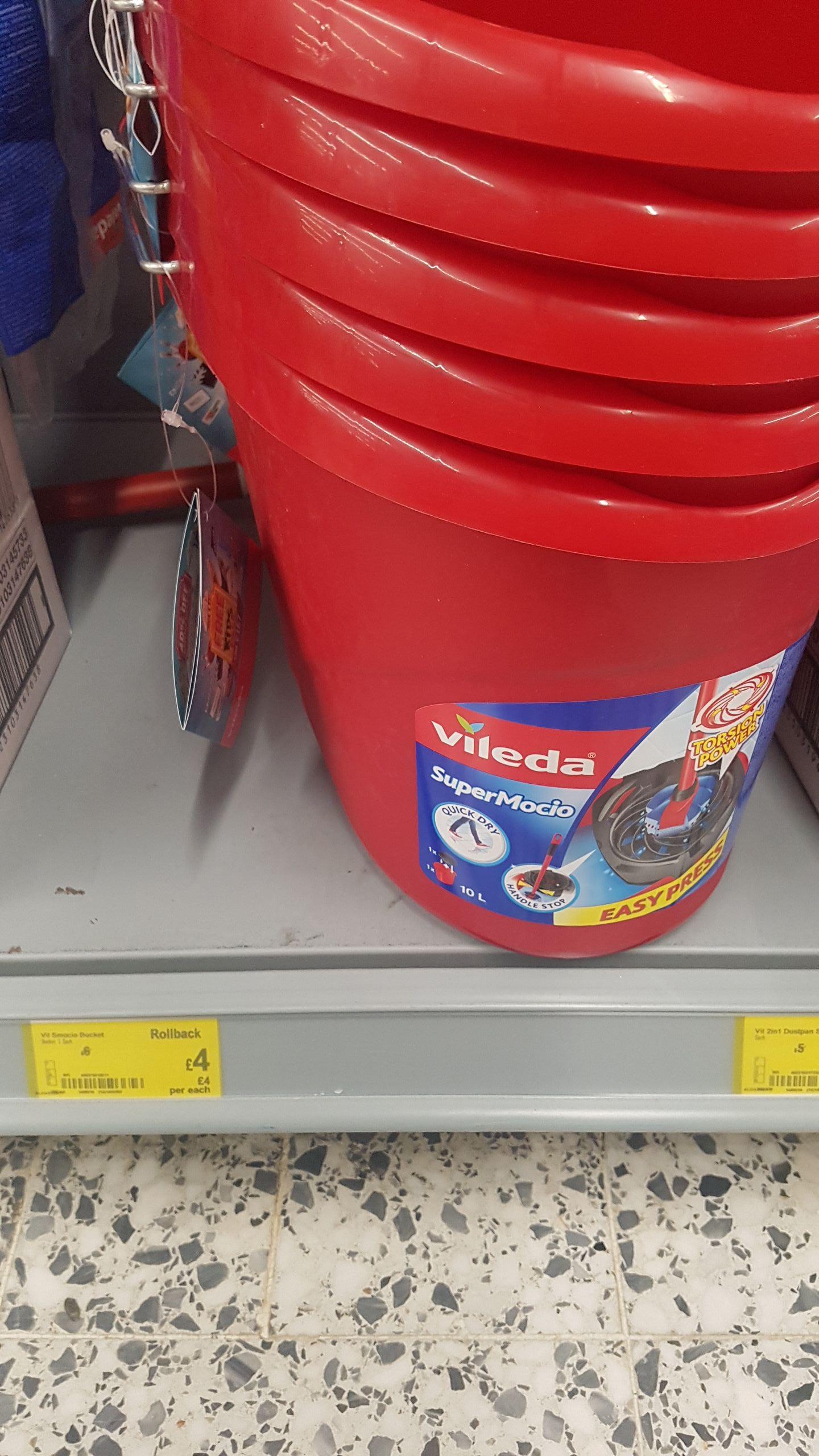 Vileda mop bucket £4 @ asda instore