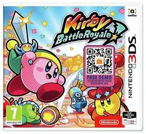 Kirby Battle Royale Nintendo 3DS £9.99 delivered @ Argos eBay