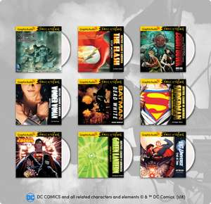 Humble Bundle DC Comics Audio Books 76p