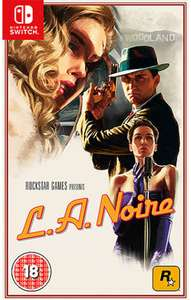 L.A. Noire (Nintendo Switch) £17.99 @ Sainsburys