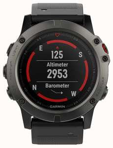 Garmin Fenix 5X Watch for £509.15 with code at First Class Watches