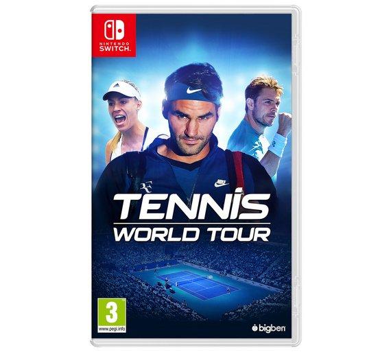 Tennis World Tour (Switch, PS4, Xbox One) £24.99 @ Argos