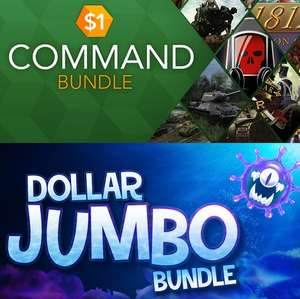 Dollar Jumbo Bundle: 25 Steam Games for 89p / Dollar Command Bundle 12 Game bundle 89p / Fanatical Strategy Bundle - 5 Games £1.79​ @ Fanatical