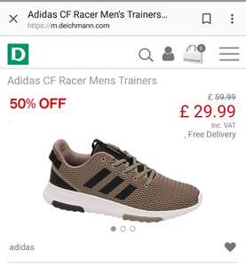Adidas Cloudfoam Racer 50% off @ Deichmann - £29.99 (more pics in description)