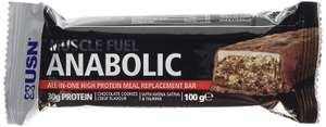 USN Muscle Fuel Anabolic Bar - 12 x 100 g - Cookie and Crisp (£7.57 / kg) £9.08 prime / £13.57 non prime @ Amazon