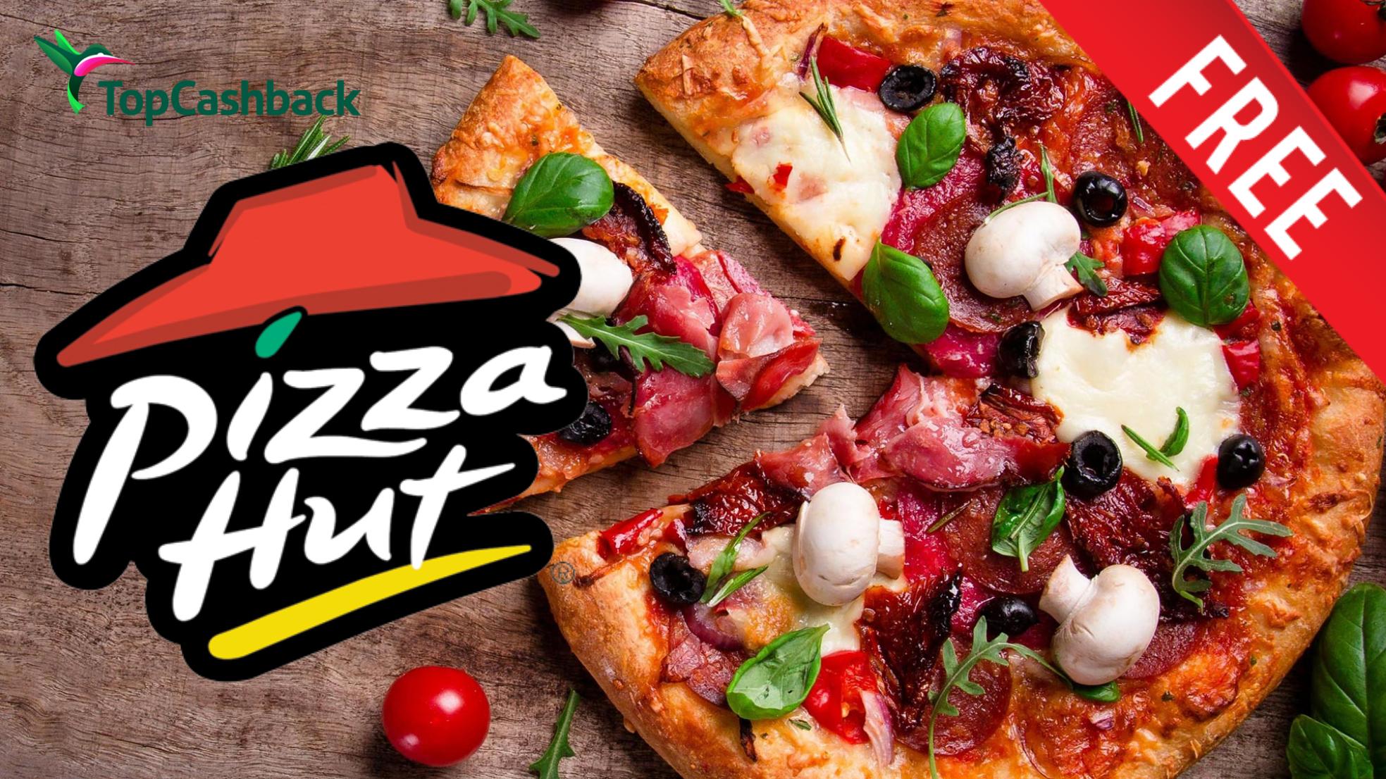 FREE PIZZAHUT TAKEAWAY (UPTO £15) via TCB