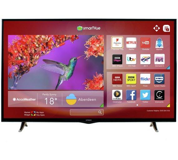 Hitachi 50 Inch Full HD Smart TV £299.99 @ Argos