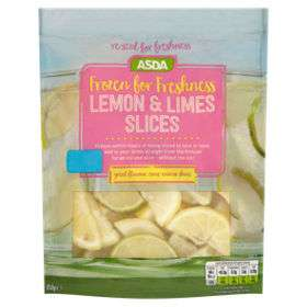 ASDA Frozen for Freshness Lemon & Limes Slices (use from the freezer) now £1.75 @ Asda ( Summer Cup Mix ideal for Pimms also £1.75)