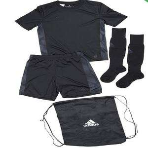 Junior Adidas Tango Cage climalite football kits in black or green now £22.48 delivered @ M and M Direct