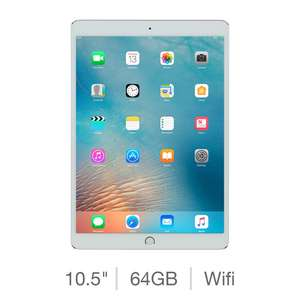 Apple iPad Pro MQDW2B/A, 10.5 Inch, 64GB with Built-in Wifi in Silver for £535 with code at  costco