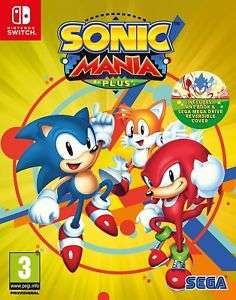 Sonic Mania Plus (Nintendo Switch) £23.99 (Preorder) Delivered @ Item Drop LTD via eBay