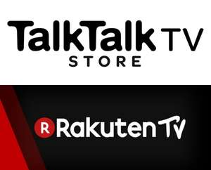 FREE Film Rental @ RakutenTV as TalkTalk TV Store (previously Blinkbox) moves to RakutenTV - check your emails (5000 redemptions only)
