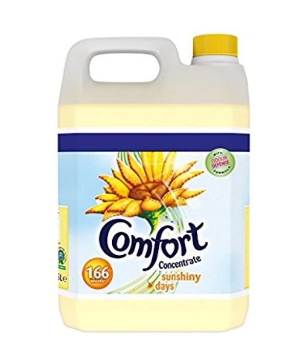 Comfort Sunshiny Days Fabric Conditioner, 5 Litre, 166 Wash £6 £ (Prime) / £10.49 (non Prime) at Amazon