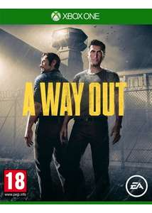 A Way Out (Xbox One) £15.85 Delivered @ Base (possible £12.85 or £13.35 with cashback)