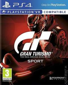 [PS4] Gran Turismo Sport - £9.27 / Everybody's Golf - £9.03 / RIGS: Mechanized Combat League - £4.63 (Pre-owned) - Music Magpie
