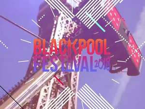 Blackpool festival weekend tickets £37.50 at rockfm RRP£100