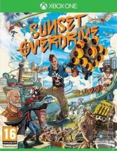 [Xbox One] Sunset Overdrive - £3.43 / Tom Clancy's Ghost Recon: Wildlands - £10.39 (Pre-owned) - Music Magpie