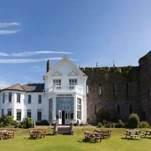 Overnight stay for 2 with 2 course dinner and breakfast at Castle of Brecon Hotel in Brecon Beacons £69 / £34.50pp @ Living Social
