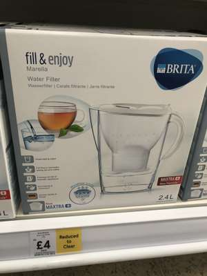 Brita Marella 2.4 L Water Filter £4 in store @ Tesco