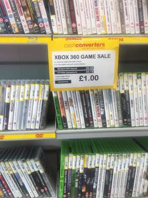All Xbox 360 games & PS3 games £1 instore @ cash converters
