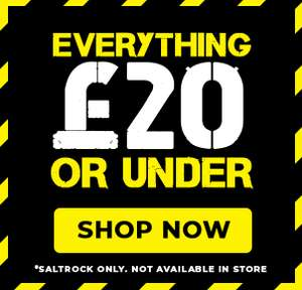 Saltrock - Everything Under £20 + 20% Off