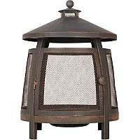 Pagoda Fire Place and Log Burner was £69 now £41.40 C+C at Asda George