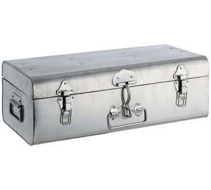 Habitat Stackable Small Galvanised Silver Trunk (49cm by 27cm - weighs 3.5kg) was £40 now £14.99 C+C @ Argos