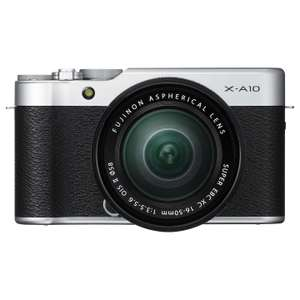 Fujifilm X-A10 Compact System Camera with XC 16-50mm Lens and 3 Years Warranty  £287.00  John Lewis