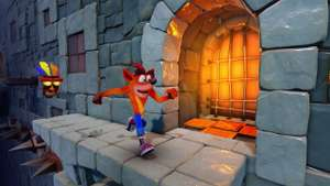 Crash Bandicoot Stormy Ascent - free on Playstation PSN
