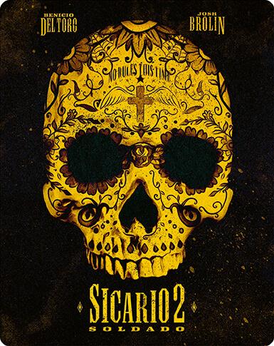 Sicario 2: Soldado - 4K UHD Steelbook Preorder Released 31/12/18 - £27.99 @ Zavvi