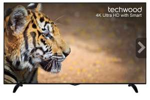 Techwood 65AO6USB 65 Inch Smart LED TV 4K Ultra HD Freeview HD 3 HDMI New £534.65 w/ code PERFECTDAY @ AO EBay (Using US method)