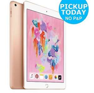 Apple iPad 6th Gen. 32GB, Wi-Fi, 9.7in - Gold £271.15 @Argos EBay w/code PERFECTDAY (using US method)