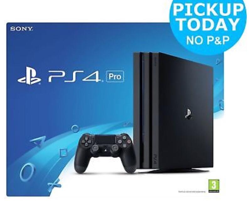 Sony PS4 PRO 1TB (new) £297.50 @Argos EBay w/code PERFECTDAY (using US method)