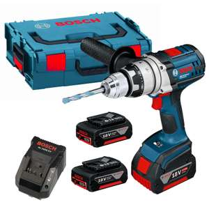 Bosch GSB 18 VE-2-LI 18V Li-Ion Robust Series Combi Drill 3 X 3.0Ah £199 @ Campbellmillertools.co.uk