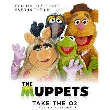 Muppets take the O2 - £34.75 per person - Block A seats @ AXS