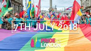 London Pride, great free day out, great atmosphere, official parade with over 500 floats and entertainment all day Sat 7 July