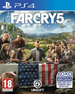 Far Cry 5 £29.99 on PS4/Xbox One at GAME Online Only Free Delivery