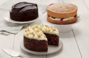 Asda Extra Special Cake Handfinished All Flavours- £1.75 at Asda