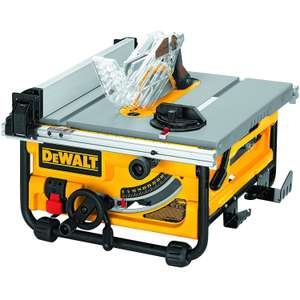 DEWALT DW745 Compact Job SiteTable Saw - £399 Sold By Amazon